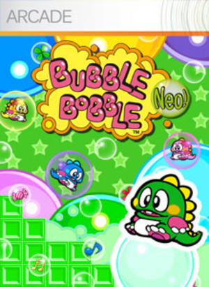 Bubble Bobble Plus! - Image: Bubble Bobble Neo! Coverart