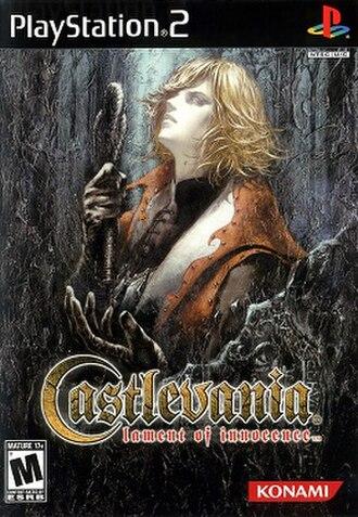 Castlevania: Lament of Innocence - North American box art