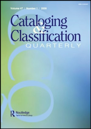 Cataloging & Classification Quarterly - Image: Cataloging & Classification Quarterly
