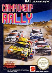 Rally Car Racing >> Championship Rally (1991 video game) - Wikipedia