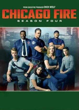Chicago Fire (season 4) - Season 4 U.S. DVD Cover