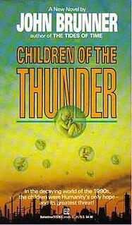 <i>Children of the Thunder</i> book by John Brunner
