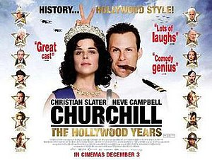 Churchill: The Hollywood Years - UK Theatrical release poster