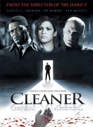 Cleaner (film) - Image: Cleaner (film) poster
