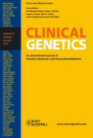 Clinical Genetics (journal) - Image: Clinical Genetics (journal)