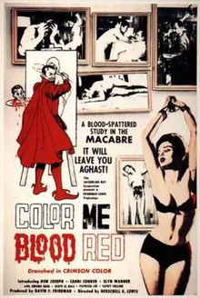 Image result for Color Me Blood Red