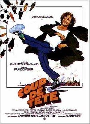 Coup de tête - Image: Coup de tête 1979 poster