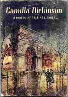 <i>Camilla Dickinson</i> book by Madeleine LEngle