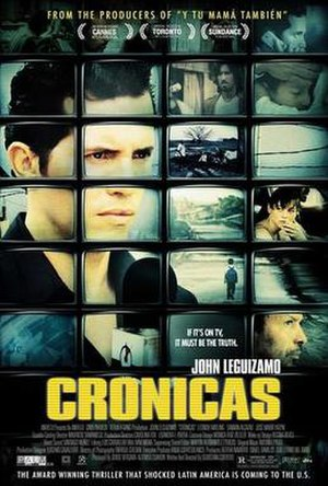Crónicas - US promotional poster