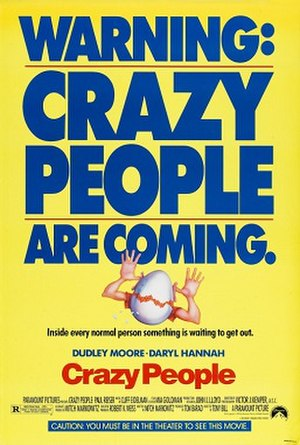 Crazy People - Theatrical release poster