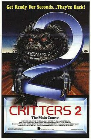Critters 2: The Main Course - Theatrical release poster
