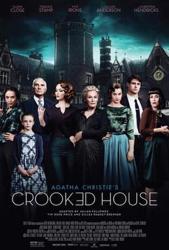 Crooked House (film) - Theatrical release poster