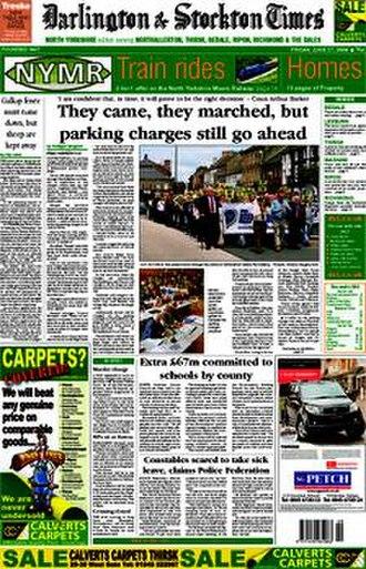 Darlington & Stockton Times - Image: D&S Times