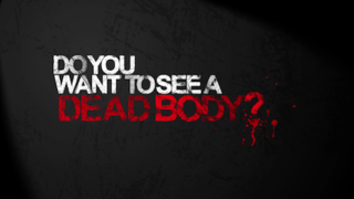 <i>Do You Want to See a Dead Body?</i> American surreal comedy web television series