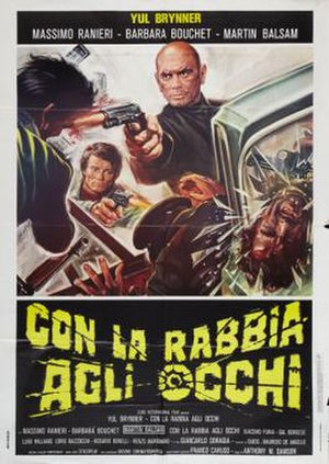 Death Rage - Italian film poster