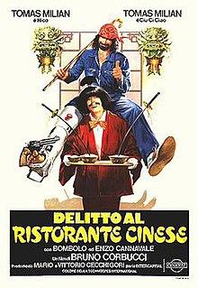 <i>Crime at the Chinese Restaurant</i> 1981 Italian crime comedy film