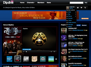 Dipdive - Image: Dipdivescreenshot