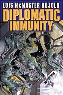 <i>Diplomatic Immunity</i> (novel) novel by Lois McMaster Bujold