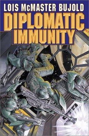 Diplomatic Immunity (novel) - Cover of first edition