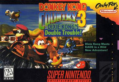 Picture of a game: Donkey Kong Country 3: Dixie Kong's Double Trouble!