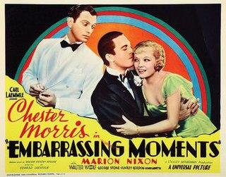 <i>Embarrassing Moments</i> (1934 film) 1934 film by Edward Laemmle