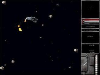 Escape Velocity Nova - A Federation fleet battles in EV Nova.