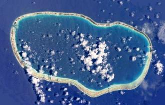 Faaite - NASA picture of Faaite Atoll.