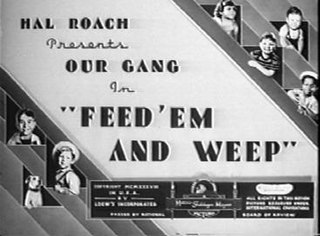 <i>Feed em and Weep</i> 1938 film by Gordon Douglas