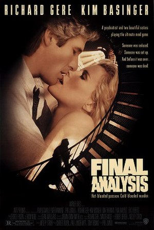 Final Analysis - Theatrical release poster