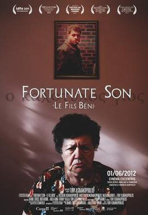 Fortunate Son (film) - Theatrical release poster