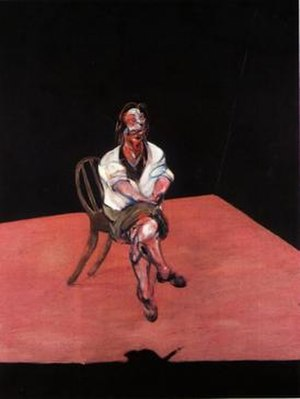 Last Tango in Paris - Study for a Portrait of Isabel Rawsthorne (oil on canvas, 1964)