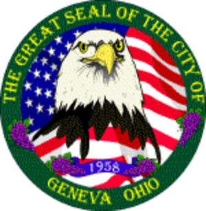 Geneva, Ohio - Image: Geneva, Ohio city seal