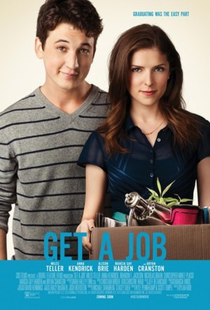 Get a Job (2016 film) - Theatrical release poster