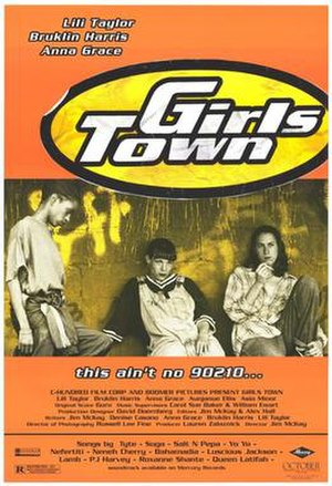 Girls Town (1996 film) - Theatrical release poster