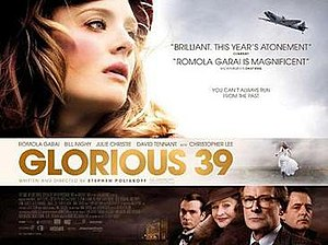 Glorious 39 - Theatrical release poster