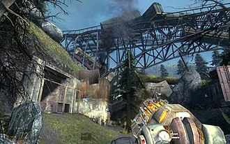 The Orange Box - Image: Halflife 2 episode 2 screenshot