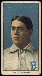 Harry Lumley (baseball) American baseball player and manager