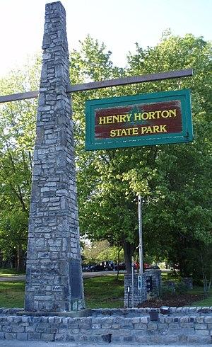 Henry Horton State Park - Image: Henryhortonstatepark sign