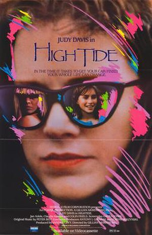High Tide (1987 film) - Movie poster
