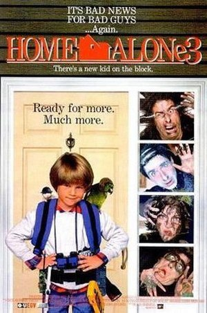 Home Alone 3 - Theatrical release poster