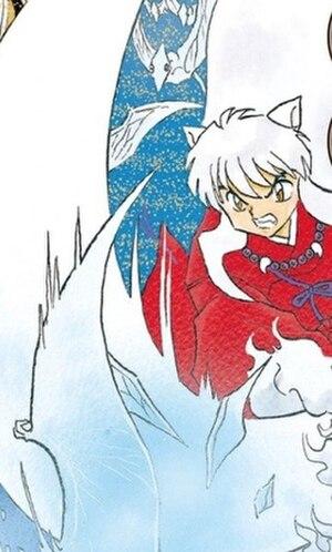 Inuyasha (character) - Inuyasha as illustrated by Rumiko Takahashi