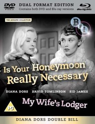 Is Your Honeymoon Really Necessary? - Cover of - Bfi DVD release of film