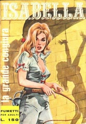 Isabella (comics) - Image: Isabella (comics) cover