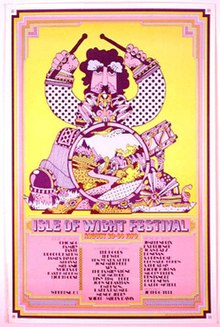 Isle Of Wight Festival 1970 Wikipedia