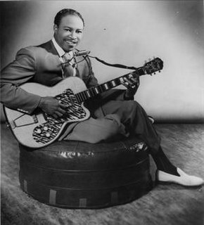 Jimmy Reed American blues musician and songwriter