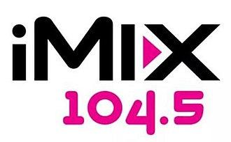 KIMX - Image: KIMX i Mix 104.5 logo