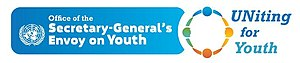 Office of the Secretary-General's Envoy on Youth - Image: LOGO Envoy on Youth integrated