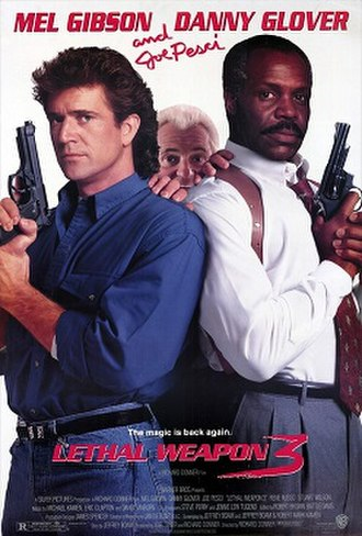 Lethal Weapon 3 - Theatrical release poster