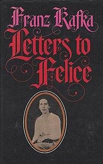 <i>Letters to Felice</i> book by Franz Kafka