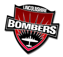 Lincolnshire Bombers Helmet Logo.png